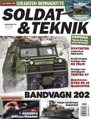 Soldat & Teknik (Inga nya utgåvor) 2018-03-06
