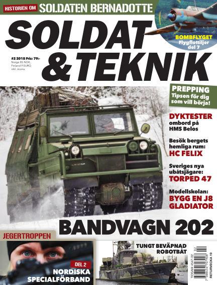 Soldat & Teknik (Inga nya utgåvor) March 06, 2018 00:00