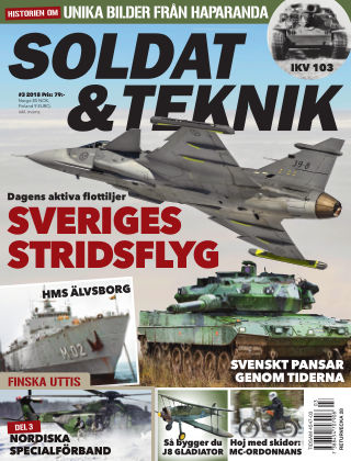 Soldat & Teknik (Inga nya utgåvor) 2018-05-08