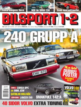 Bilsport 2015-12-29