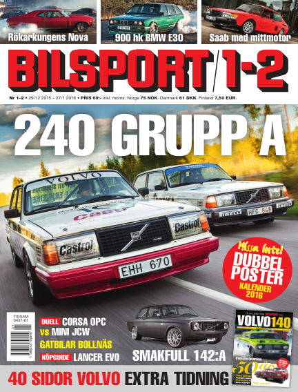 Bilsport December 29, 2015 00:00