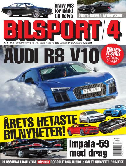 Bilsport February 11, 2016 00:00