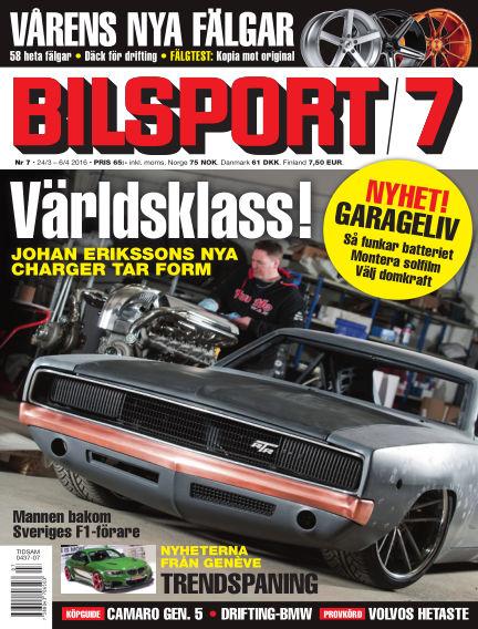 Bilsport March 24, 2016 00:00