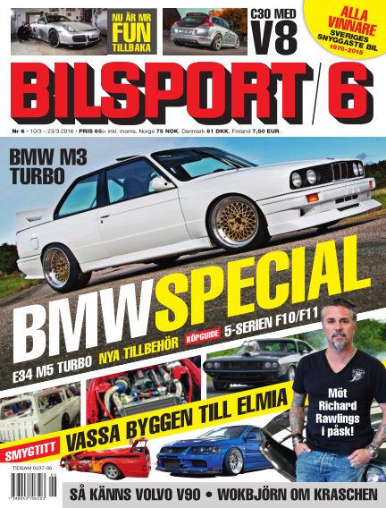 Bilsport March 10, 2016 00:00