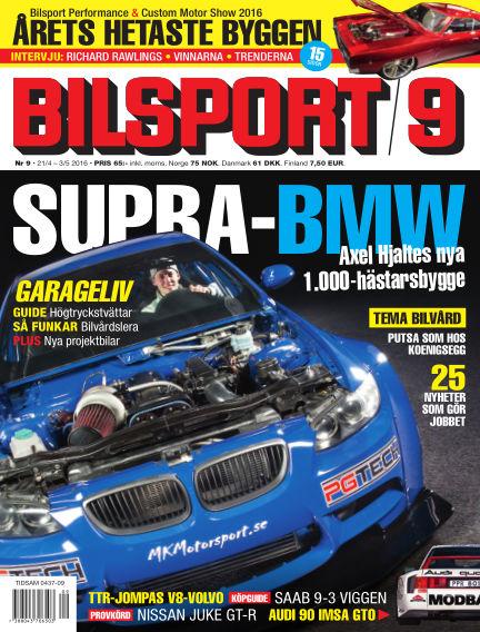 Bilsport April 21, 2016 00:00