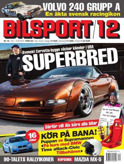 Bilsport June 02, 2016 00:00