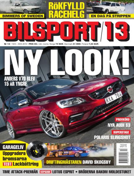 Bilsport June 16, 2016 00:00