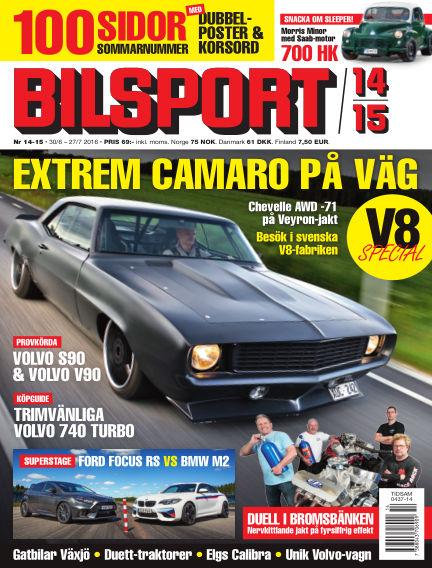 Bilsport June 30, 2016 00:00
