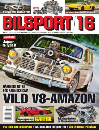 Bilsport 2016-07-28