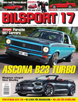 Bilsport 2016-08-11