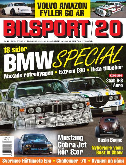 Bilsport September 22, 2016 00:00