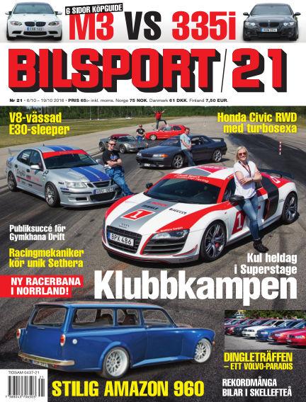 Bilsport October 06, 2016 00:00