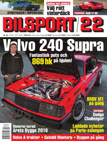 Bilsport October 20, 2016 00:00