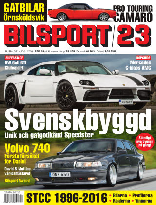 Bilsport 2016-11-03