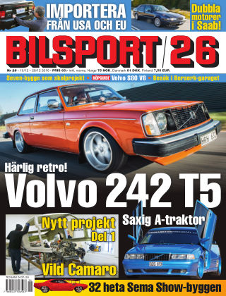 Bilsport 2016-12-19