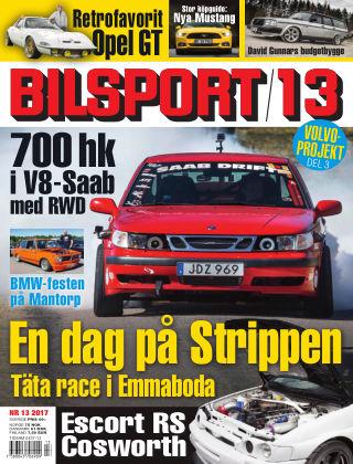 Bilsport 2017-06-15