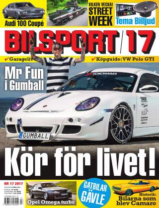 Bilsport 2017-08-10