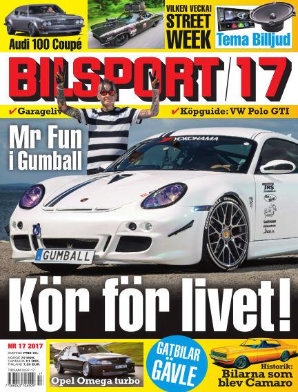 Bilsport August 10, 2017 00:00