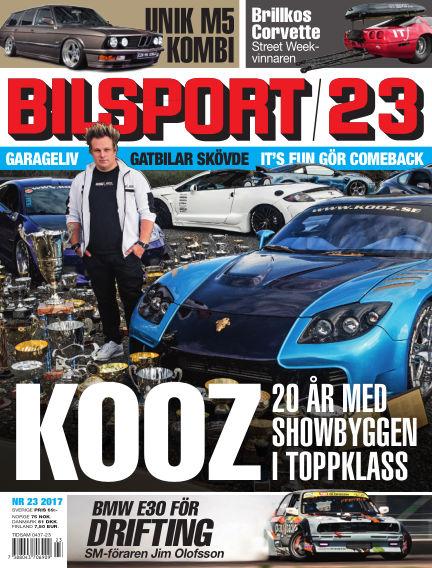 Bilsport November 02, 2017 00:00