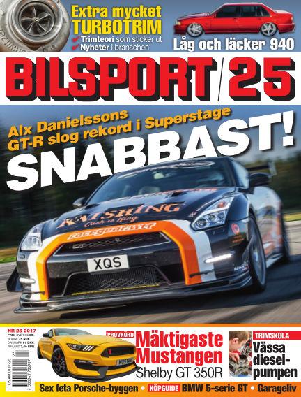Bilsport November 30, 2017 00:00