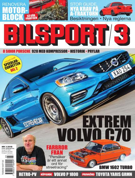 Bilsport February 08, 2018 00:00