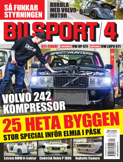 Bilsport March 01, 2018 00:00