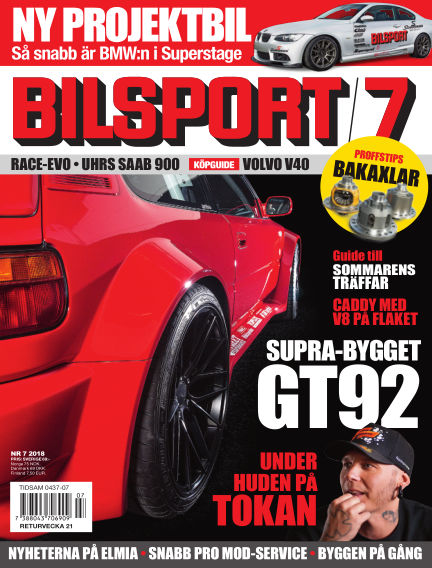 Bilsport May 03, 2018 00:00