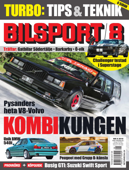 Bilsport May 24, 2018 00:00