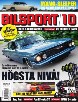 Bilsport 2018-07-05