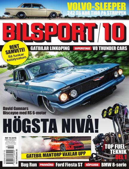 Bilsport July 05, 2018 00:00