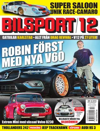 Bilsport 2018-08-16