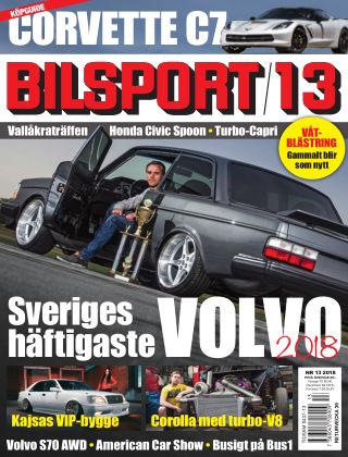 Bilsport 2018-09-06