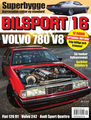 Bilsport 2018-11-08