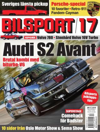 Bilsport 2018-11-29