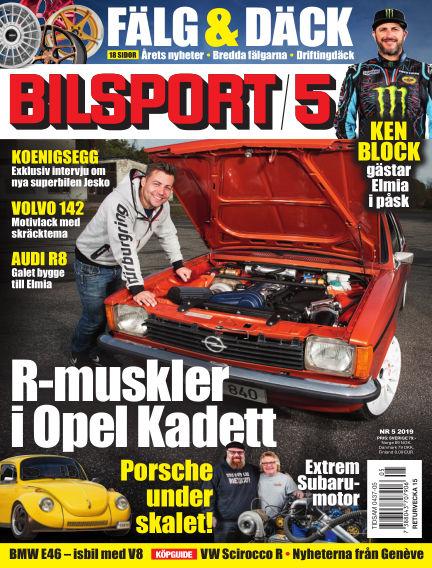 Bilsport March 21, 2019 00:00
