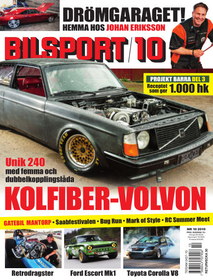 Bilsport July 04, 2019 00:00