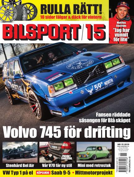 Bilsport October 17, 2019 00:00