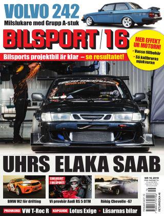 Bilsport 2019-11-07