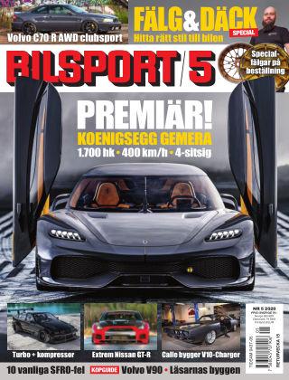 Bilsport 2020-03-19