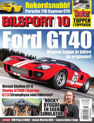 Bilsport 2020-07-02