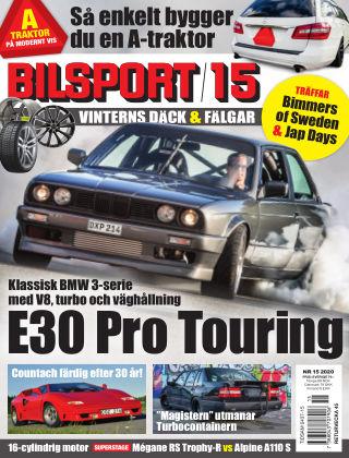 Bilsport 2020-10-15