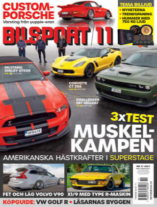 Bilsport 2021-07-22