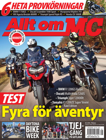 Allt om MC May 03, 2018 00:00