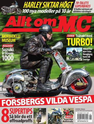 Allt om MC 2018-09-13