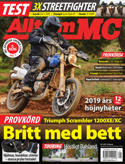 Allt om MC January 17, 2019 00:00