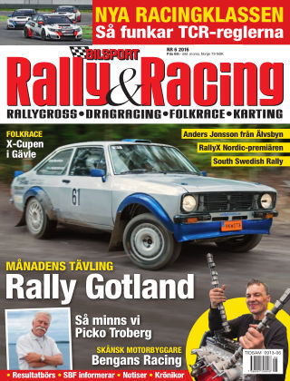 Bilsport Rally & Racing 2016-05-26