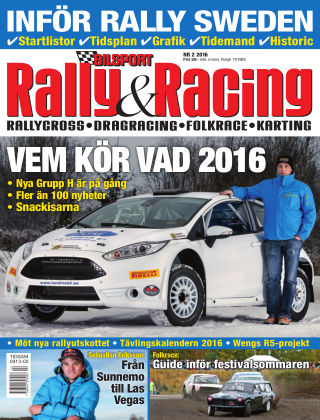Bilsport Rally & Racing 2016-01-28