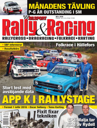 Bilsport Rally & Racing 2016-03-31