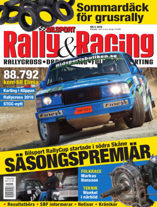 Bilsport Rally & Racing 2016-04-28