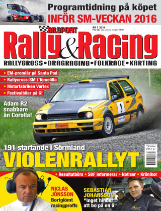 Bilsport Rally & Racing 2016-06-22
